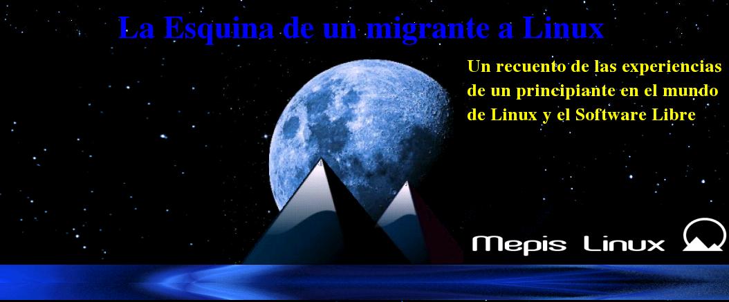 La Esquina de un Migrante a Linux