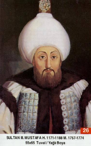 26 III. Mustafa (1717–1774)Mustafa3