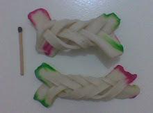 Krupuk Kepang Bawang