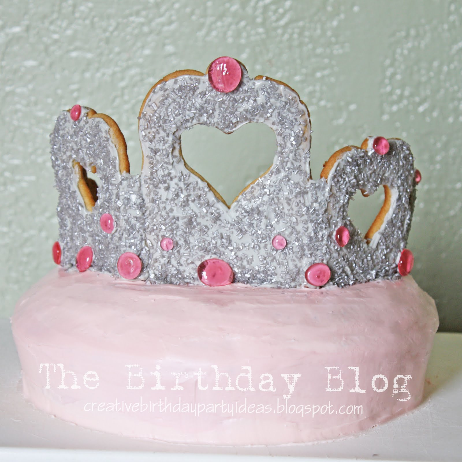 Princess Tiara Cake Stacy Risenmay