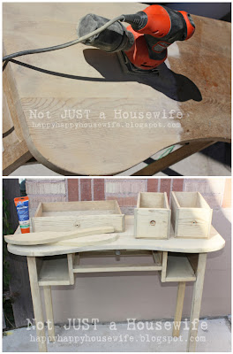 3redo Refinished Desk Tutorial