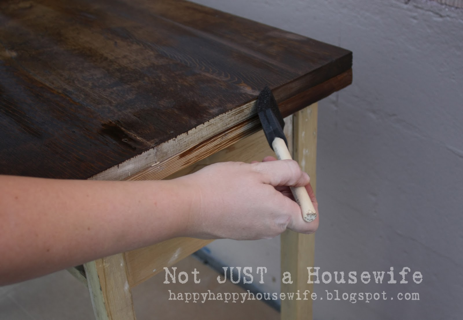 Refinish Stained Wood How To Refinish And Old Desk Stacy Risenmay