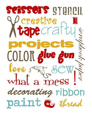 craftprintable2 FREE Craft Room Printables
