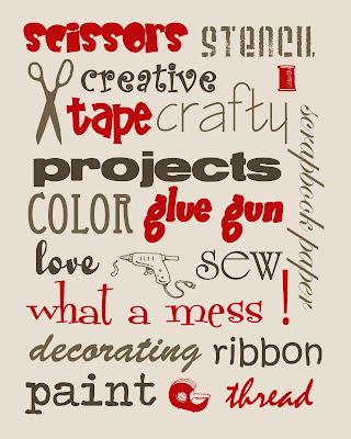 craftprintable5 FREE Craft Room Printables