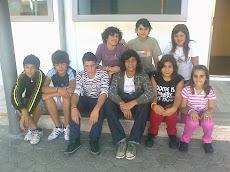 Les élèves de la 8ème année groupe 1(Alunos do 8º ano grupo 1)