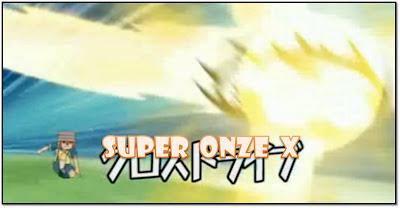 Super onze x tecnicas do super onze for Domon x ichinose