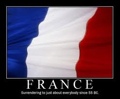 France positions itself in opposition to the Holy One of Israel