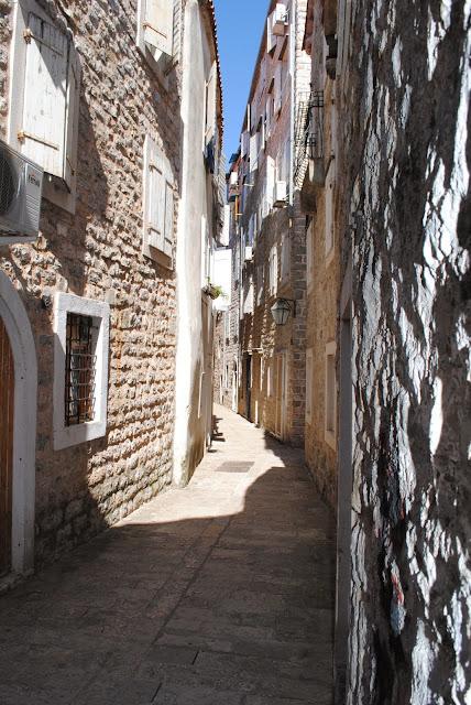 Budva.Old Street
