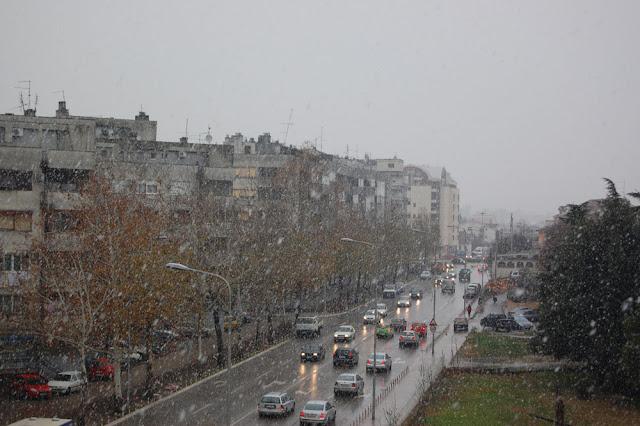 Снег в Подгорице