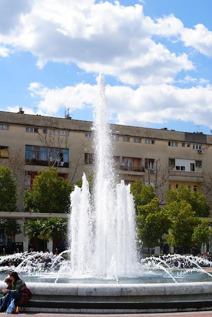 Подгорица. Площадь Республики.