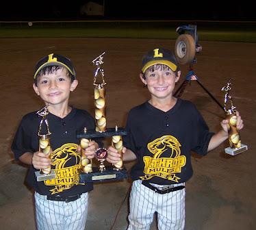 Trey and Trevor.....CHAMPIONS