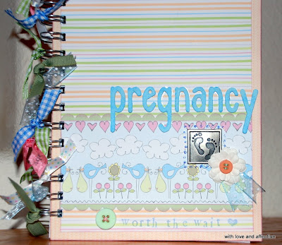 Pregnancy Diary on With Love And Affection  Custom Order  Pregnancy Journal