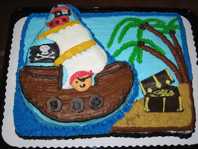 Oikology 101 Godmama Chriss Pirate Baby Shower Cake Quilt