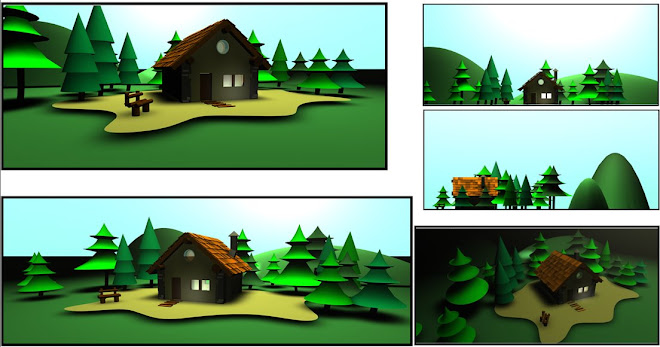 una casita similar pero en 3d