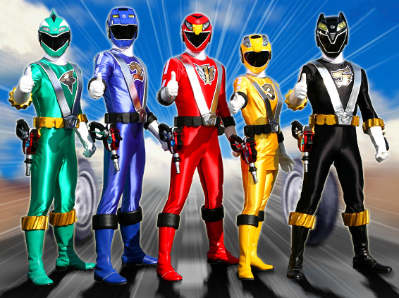 power rangers, hora de mofar, mighty morphin, Super sentai