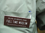 Full time Muslim.There is no such thing as part time muslim