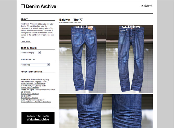 denim archive