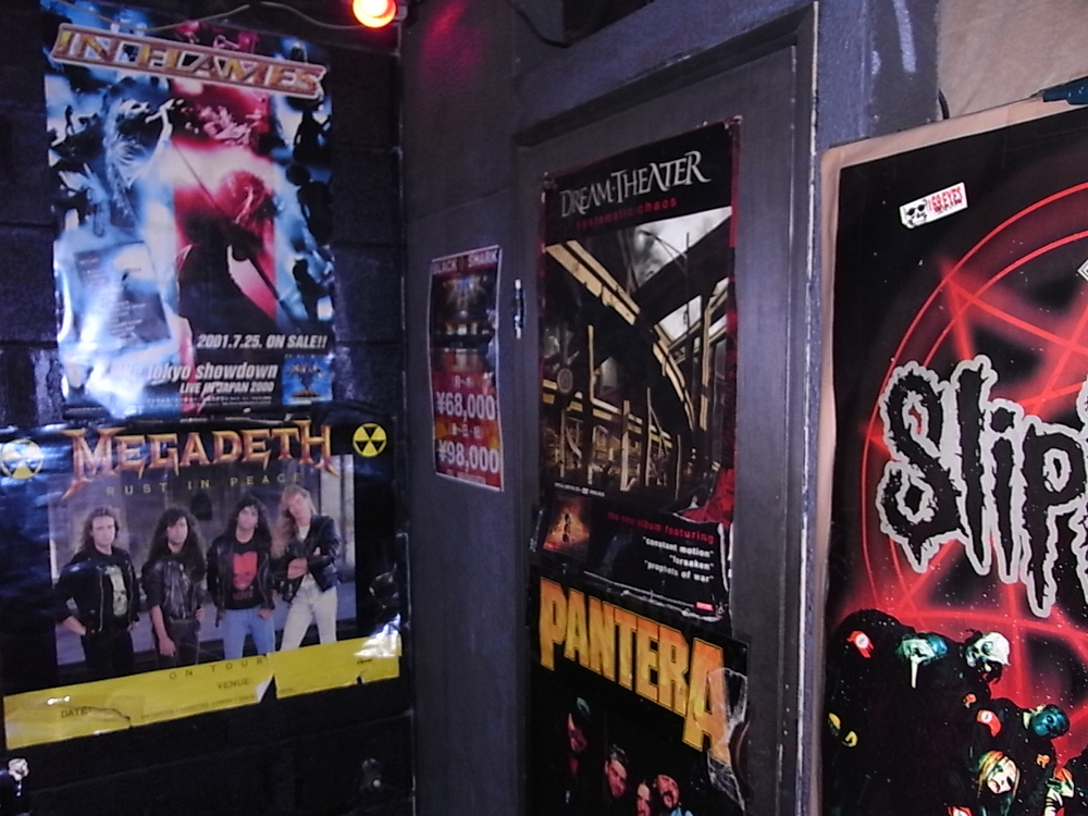 rock bar godz shinjuku