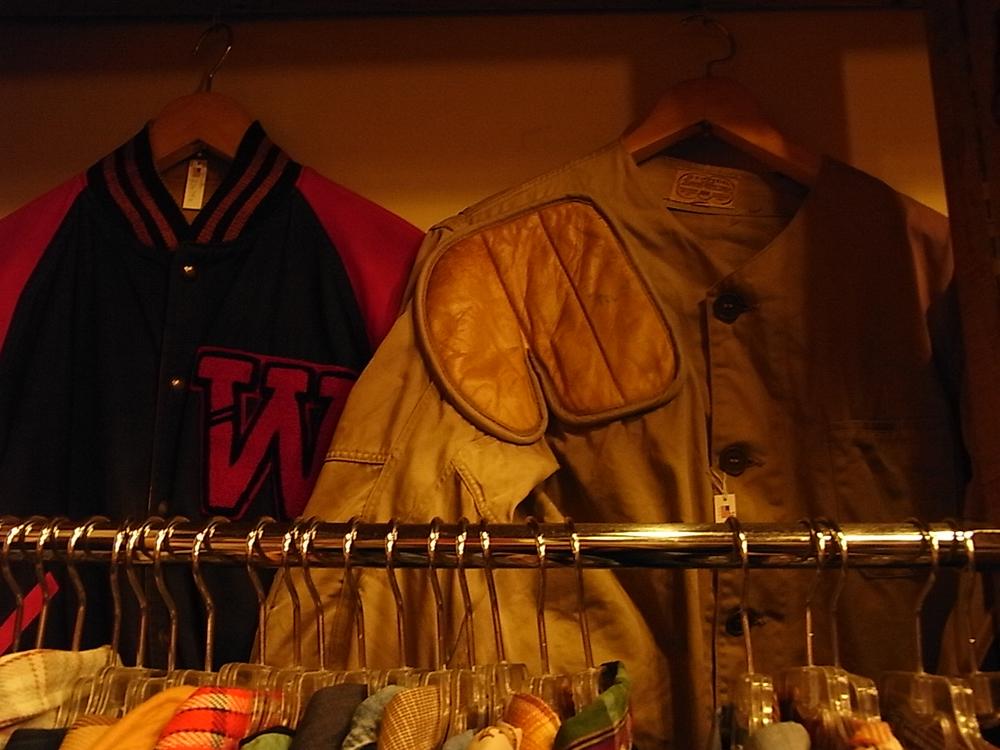 mecca osaka vintage hunting jacket and award jacket