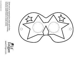 fr images coloriages colorier photo masque p9200 Máscaras de Carnaval para colorir e imprimir para crianças