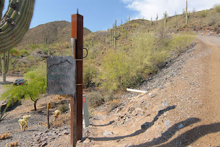 Sign marking the trailhead of the Black Mountain Trail