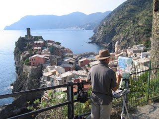 Vernazza, along the Cinque Terre