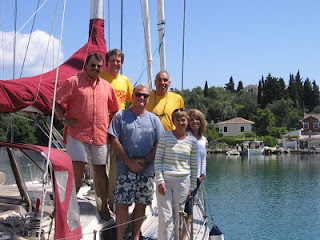 The Odyssey: End of trip in Corfu marina