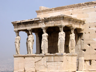 Temple of the Caryatids at the Acropolis