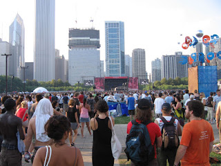 The Raconteurs at Lollapalooza 2008