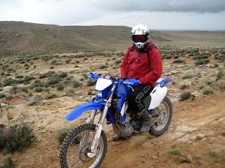 Kokopelli's Trail: Sitting in the rain near Fish Ford