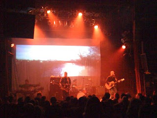 Doves performing 'Caught by the River' at the Gothic Theatre in Denver