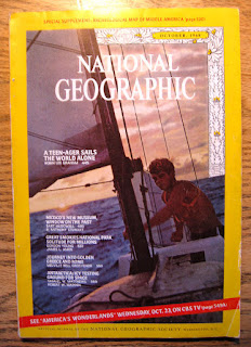 'My aha moment' prop: October 1968 National Geographic magazine with the article about Robin Lee Graham's solo circumnavigation