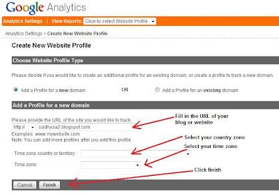 how to get google analytics code