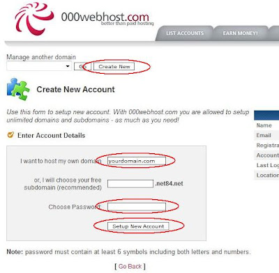 setup co.cc to 000webhost hosting