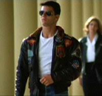 Top JacketsTom Cruise Top Gun Leather Jacket