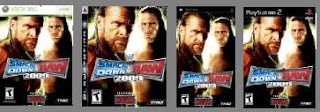 smackdown vs raw 2009 video games psp xbox ps3