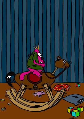 cheval à greulm