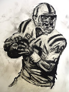 Quarterback, Quarteracks, football images, football art, Payton Manning