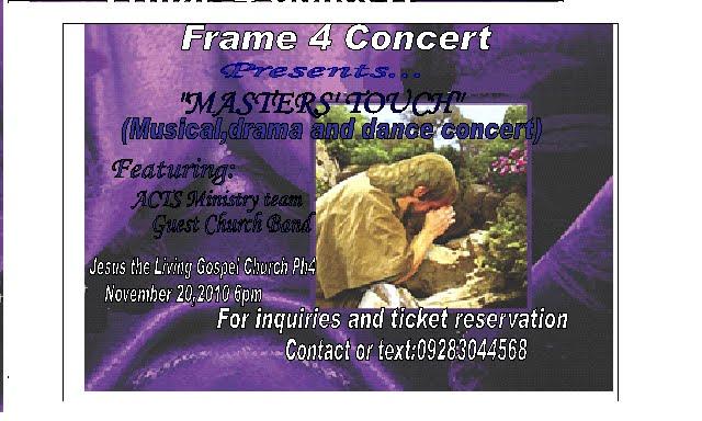 Frame4 Concert
