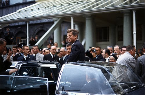 the bubbletop JFK allegedly didn't like June 1963 Ireland