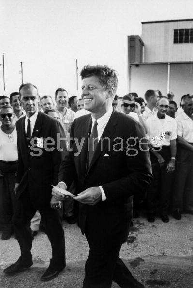 Rufus Youngblood with JFK, 1961