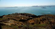 Treasure Island, Bay Bridge, downtown San Francisco, and Alcatraz: baybridgesanfrancisco