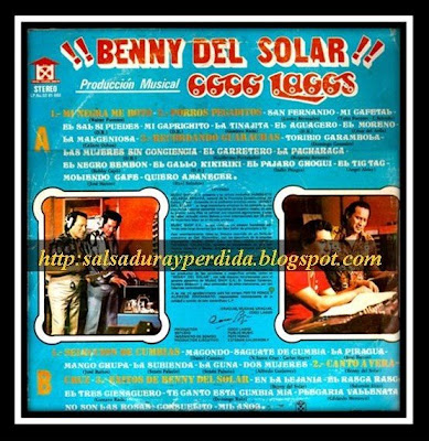 Benny Del Solar - Mi Negra Me Boto