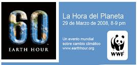 """Logo Campaña """"la hora del planeta"""""""