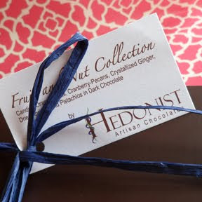 Hedonist Chocolate Fruit and Nut Collection