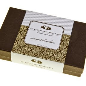 au coeur des chocolates beautiful chocolate box packaging