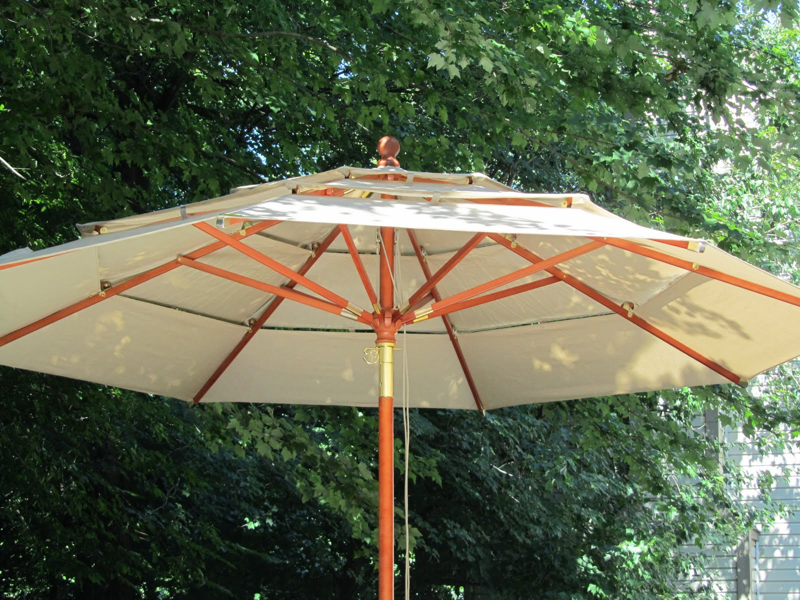 costco patio umbrella acanthus and acorn outdoor room