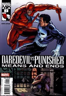 Daredevil VS The Punisher 01