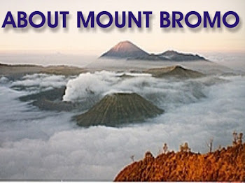 MAP OF GUNUNG BROMO