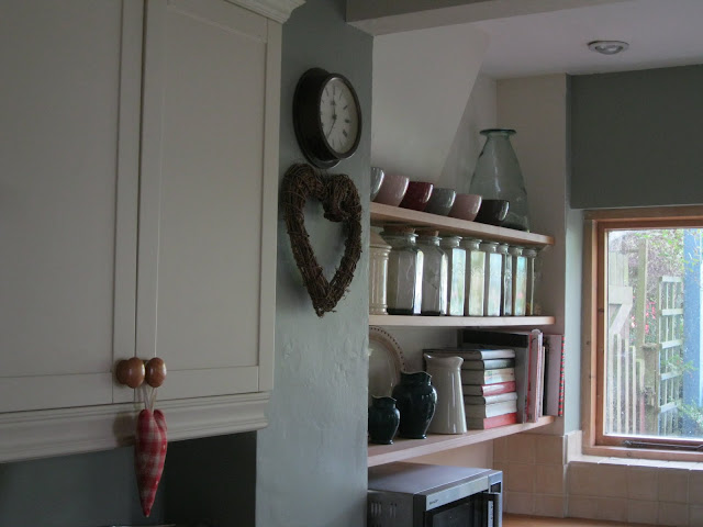 Modern Country Kitchen Farrow and Ball Blue Gray